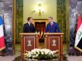 法国总统马克龙访问伊拉克